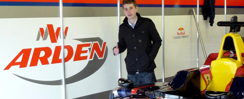 Ross Gunn joins Arden Young Racing Drivers Programme